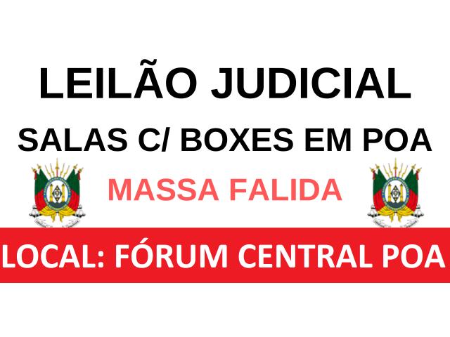 LEILÃO JUDICIAL - SALAS C/ BOXES NO IGUATEMI CORPORATE