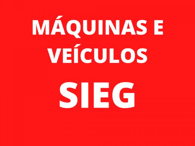 LEILÃO JUDICIAL - DIVERSAS MÁQUINAS E VEÍCULOS